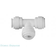 Organic WA-UT0404 тройник 3 x 1/4 к шлангу к трубке, фитинг для обратного осмоса
