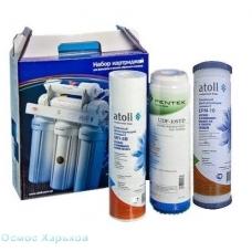 Atoll №203 набор префильтров для систем обратного осмоса, США - Россия