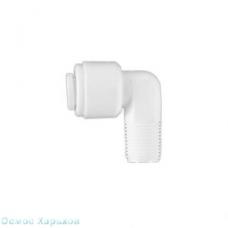 """Aquafilter A4ME2-W колено 1/8"""" РН x 1/4"""" к трубке, фитинг для корпуса мембраны"""