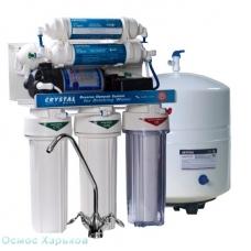 Crystal CFRO-550MP шестиступенчатый фильтр обратного осмоса с минерализатором и помпой, Украина