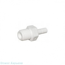 Aquafilter A4SA4-W муфта - 1/4 РН x 1/4 вкладыш, фитинг для корпуса фильтра, постфильтра