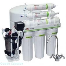 WATERMELON RO-6P фильтр обратного осмоса с помпой и минерализатором компании Биохим-Сервис, Украина, Харьков