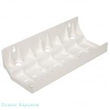 Пластиковый монтажный кронштейн для тройных систем и фильтров обратного осмоса